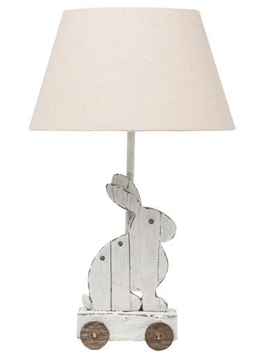 Warm Design Tavşanlı Masa Abajuru Renkli